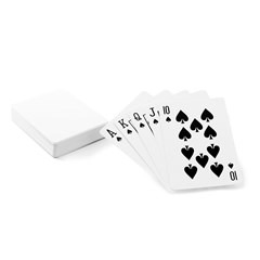 Playing Cards Single Design (Rectangle)