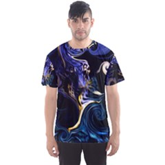 L308 Men s Full All Over Print Sport T-shirt