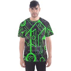Tech All Over Print Sport T Shirt (men) by UniqueandCustomGifts