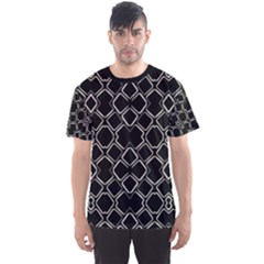 Geometric Dark Print Men s Sport Mesh Tee by dflcprintsclothing