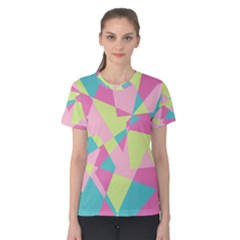 Abstraction Women s Cotton Tee by olgart