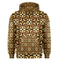 Faux Animal Print Pattern Men s Pullover Hoodies by creativemom