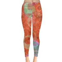 Fading Shapes Leggings by LalyLauraFLM