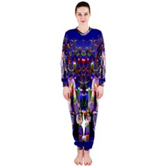 Robot Butterfly Onepiece Jumpsuit (ladies)  by icarusismartdesigns