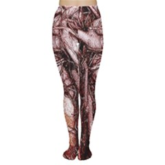The Bleeding Tree Women s Tights by InsanityExpressedSuperStore
