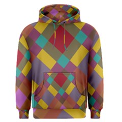 Shapes Pattern Men s Pullover Hoodie by LalyLauraFLM