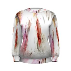 Abstract Angel In White Women s Sweatshirts by digitaldivadesigns