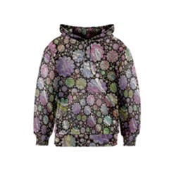 Sweet Allover 3d Flowers Kid s Pullover Hoodies by MoreColorsinLife