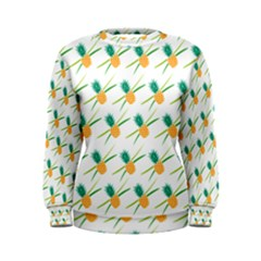 Pineapple Pattern 02 Women s Sweatshirts by Famous