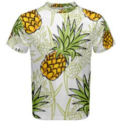 Pineapple Pattern 06 Men s Cotton Tees by Famous