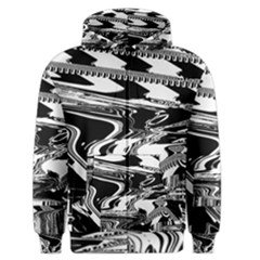 Bw Glitch 1 Men s Zipper Hoodies