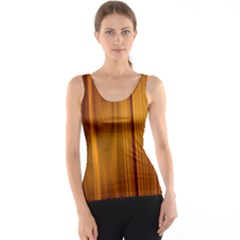 Shiny Striated Panel Tank Top by trendistuff
