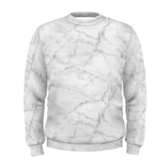 White Marble 2 Men s Sweatshirts by ArgosPhotography