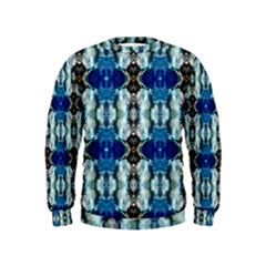 Royal Blue Abstract Pattern Boys  Sweatshirts by Costasonlineshop