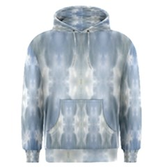 Ice Crystals Abstract Pattern Men s Pullover Hoodies by Costasonlineshop