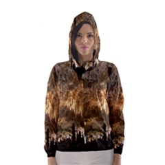 Carlsbad Caverns Hooded Wind Breaker (women) by trendistuff