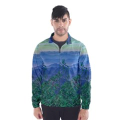 Fantasy Landscape Photo Collage Wind Breaker (men) by dflcprintsclothing