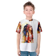 Indian 22 Kid s Cotton Tee by indianwarrior