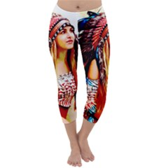 Indian 22 Capri Winter Leggings  by indianwarrior