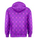 Abstract Dancing Diamonds Purple Violet Men s Zipper Hoodie View2