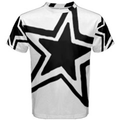 Double Star Men s Cotton Tee by TRENDYcouture