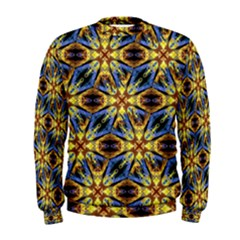 Vibrant Medieval Check Men s Sweatshirt by dflcprintsclothing