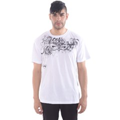Hollow Men s Sport Mesh Tee
