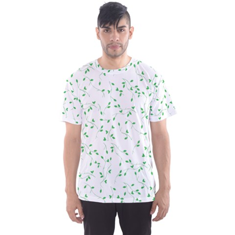 Nature Pattern Men s Sport Mesh Tee by gumacreative
