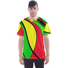 Colors Of Jamaica Men s Sport Mesh Tee by Valentinaart