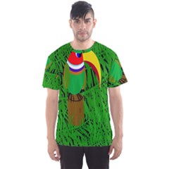Toucan Men s Sport Mesh Tee by Valentinaart