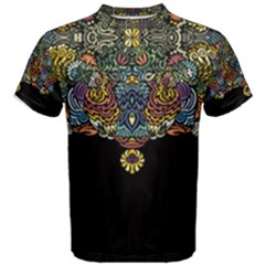 Eleanor Pattern Men s Cotton Tee by Contest2492222