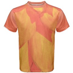 Orange Flower Men s Cotton Tee