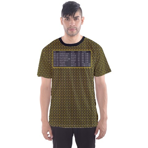 Wanderlust Men s Sport Mesh Tee by Contest2018509