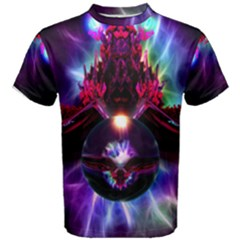 """dragon Orb"" By Spaced Painter Men s Cotton Tee"