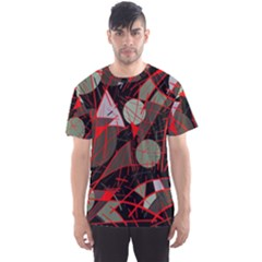 Artistic Abstraction Men s Sport Mesh Tee by Valentinaart