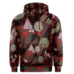 Artistic Abstraction Men s Pullover Hoodie by Valentinaart