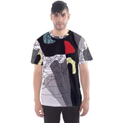 Decorative Abstraction Men s Sport Mesh Tee by Valentinaart