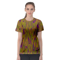 Decorative Pattern  Women s Sport Mesh Tee by Valentinaart