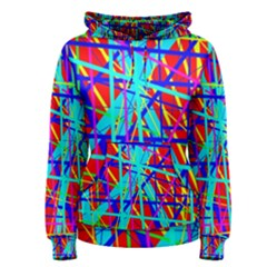 Colorful Pattern Women s Pullover Hoodie by Valentinaart