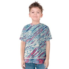 Colorful Pattern Kid s Cotton Tee by Valentinaart