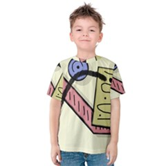 Decorative Abstraction Kid s Cotton Tee