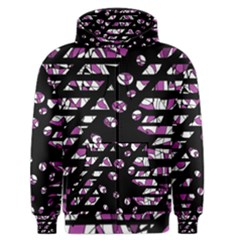 Magenta Freedom Men s Zipper Hoodie by Valentinaart