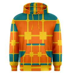 Squares And Rectangles                                                                                                Men s Pullover Hoodie by LalyLauraFLM
