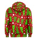 Twisted Christmas trees Men s Zipper Hoodie View2