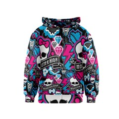 Monster High 03 Kids  Zipper Hoodie by AnjaniArt