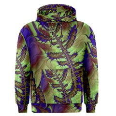 Freaky Friday, Blue Green Men s Pullover Hoodie by Fractalworld