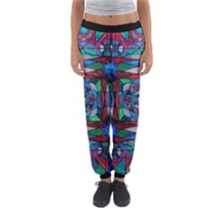 Sense Of Security   Women s Jogger Sweatpants by tealswan