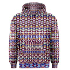 Ethnic Colorful Pattern Men s Zipper Hoodie