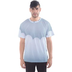 Soft Pure Backgrounds Men s Sport Mesh Tee
