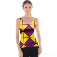 Complexion Purple Yellow Tank Top